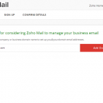 How to Setup Zoho Free Email Hosting